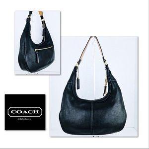 🎁🎄Coach Pebble Leather Hobo